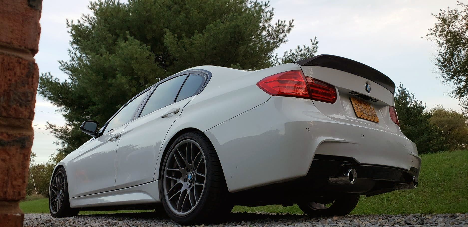 F30 335i with VRSF Exhaust Tips