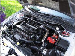 Muse Motorsports Upper & Lower Intercooler Piping Kit 03-06 Evo 8 & 9-77