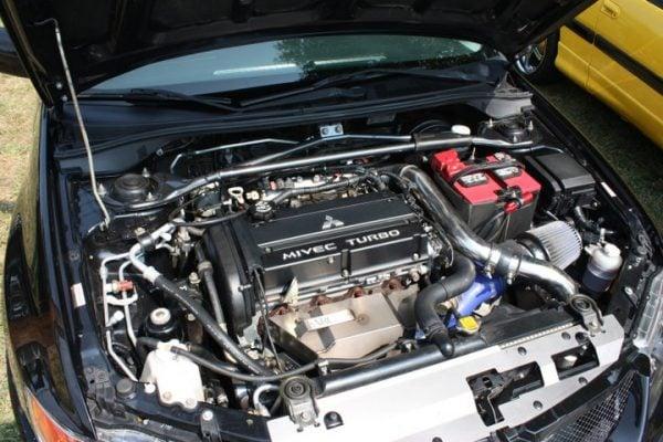 Muse Motorsports Stock Battery Upper Intercooler Piping 03-06 Evo 8 & 9-85
