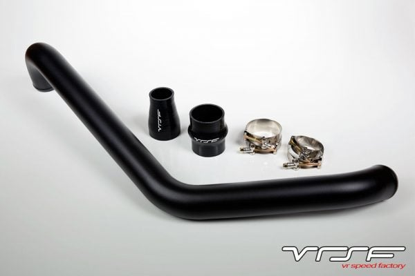 Muse Motorsports 1 Piece Upper Intercooler Pipe 08+ Evo 10 - Black-0