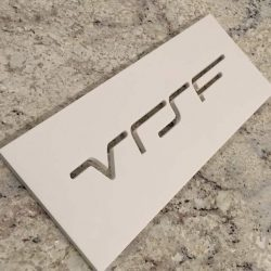 VRSF Intercooler Logo Stencil - 16