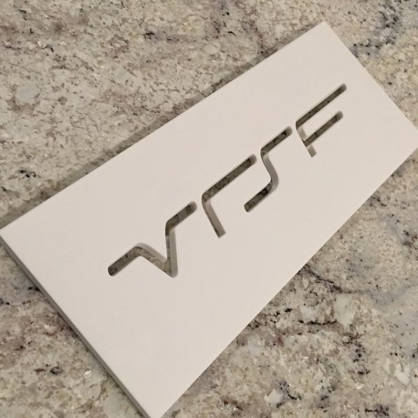 "VRSF Intercooler Logo Stencil - 16"" x 1.8""-0"