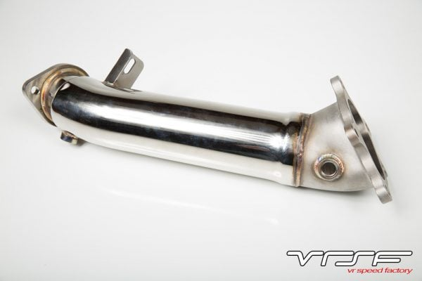 "VRSF Nissan GTR 3.5"" Catless Cast Bellmouth Downpipes-2933"