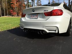 VRSF 90mm Stainless Steel Exhaust Tips 14+ F80/F82 BMW M3 & M4-2935
