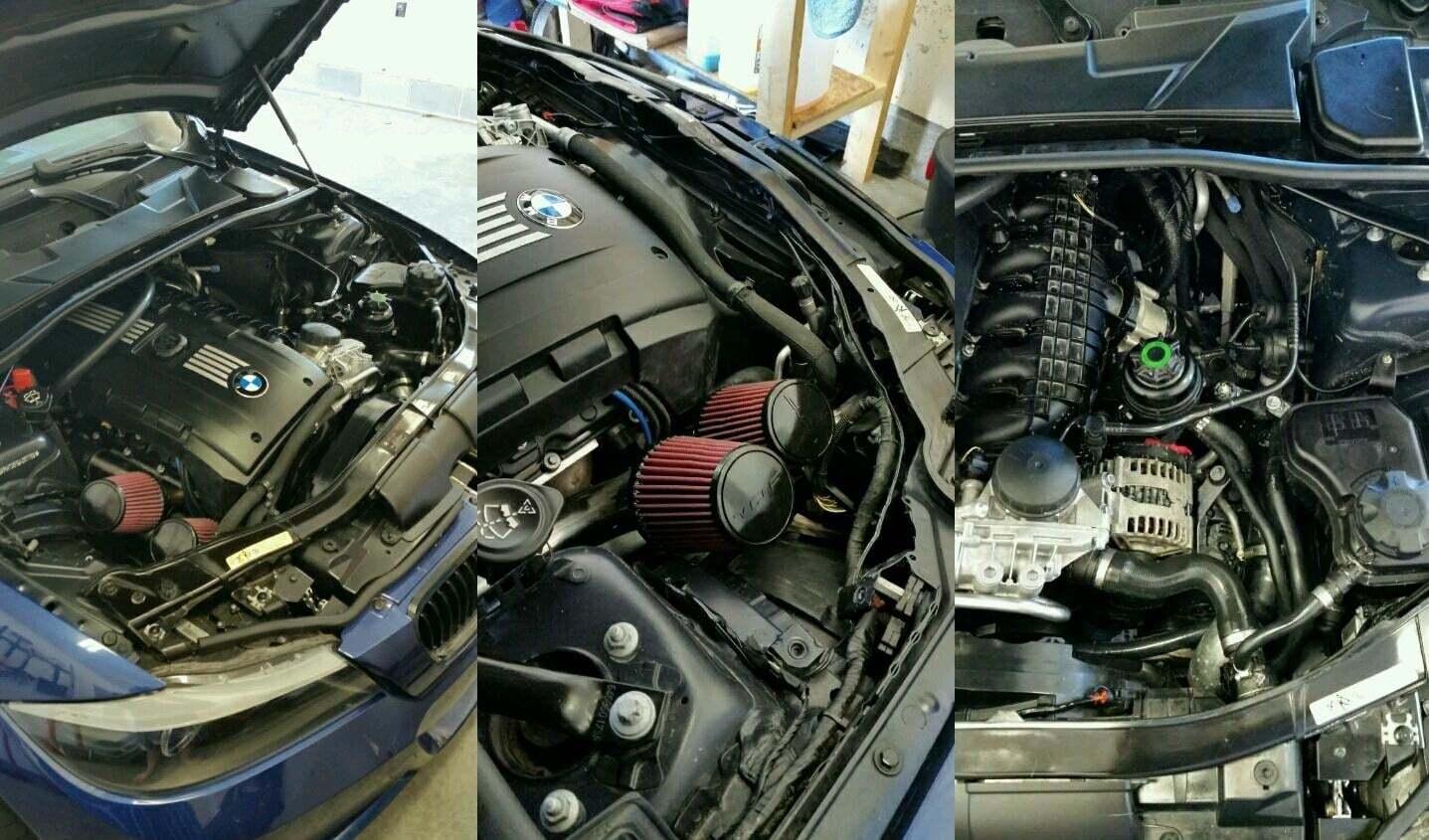 "VRSF OEM Location 1.75/"" Silicone Inlet Intake Kit N54 07-10 BMW 135i//335i//535i"