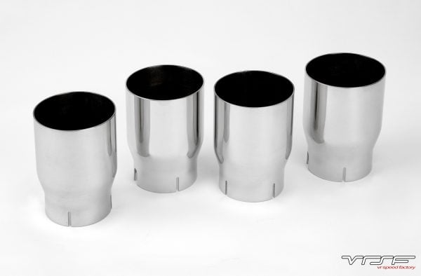 VRSF 90mm Stainless Steel Exhaust Tips 15+ F87 BMW M2-2995