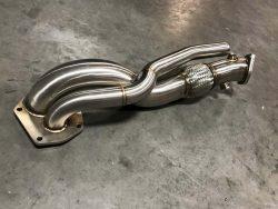Muse Motorsports Stainless Steel External Dump O2 Eliminator Evo 10-0