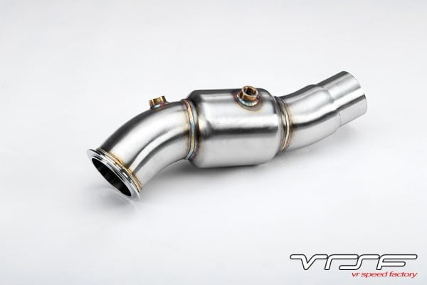 VRSF Stainless Steel Catless Downpipe N55 11-18 BMW X3 35i & X4 35i F25/F26-3189
