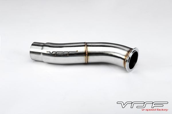 VRSF Stainless Steel Catless Downpipe N55 11-18 BMW X3 35i & X4 35i F25/F26-0