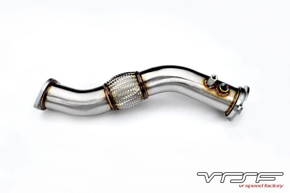 VRSF 335D Stainless Steel Catless Downpipe M57 08-12 BMW 335D