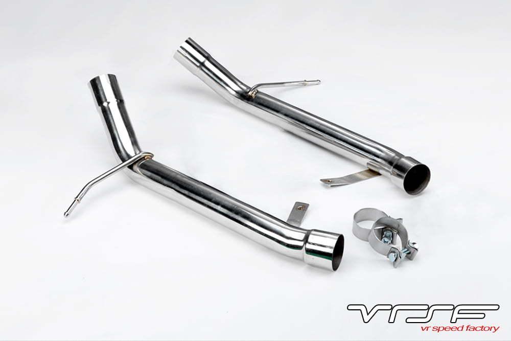 VRSF Stainless Steel Muffler Delete for 07-13 BMW 335i/335xi/335is  E90/E91/E92/E93 N54 & N55